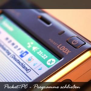 PocketPC - Anwendungen beenden