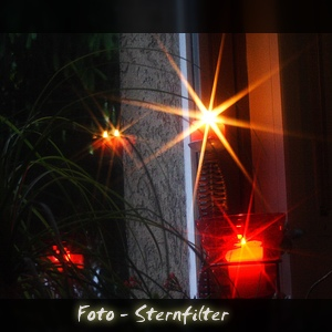 Foto - Sternfilter